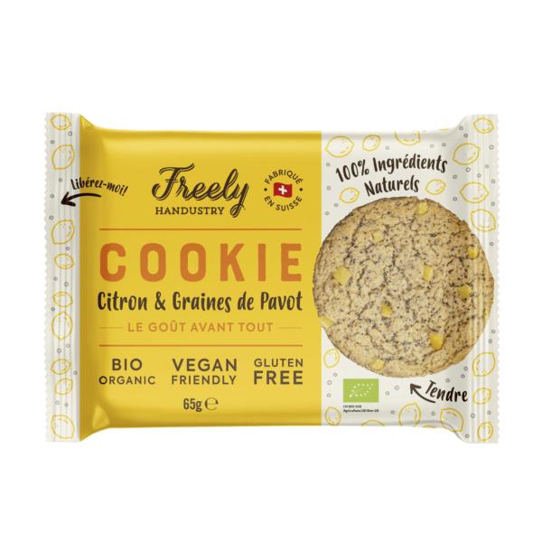 freely handustry cookie vegan suisse lemon