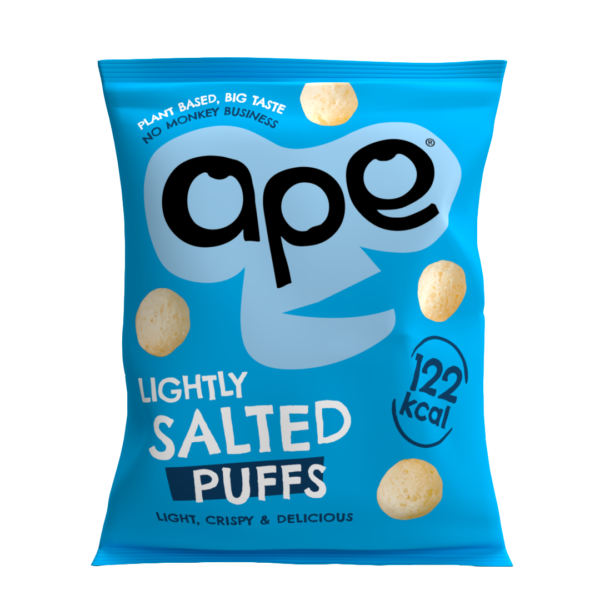 healthy salted coconut puff