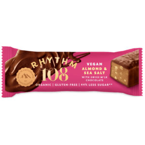 rhythm 108 almond vegan snack