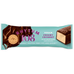 rhythm 108 coconut bar vegan