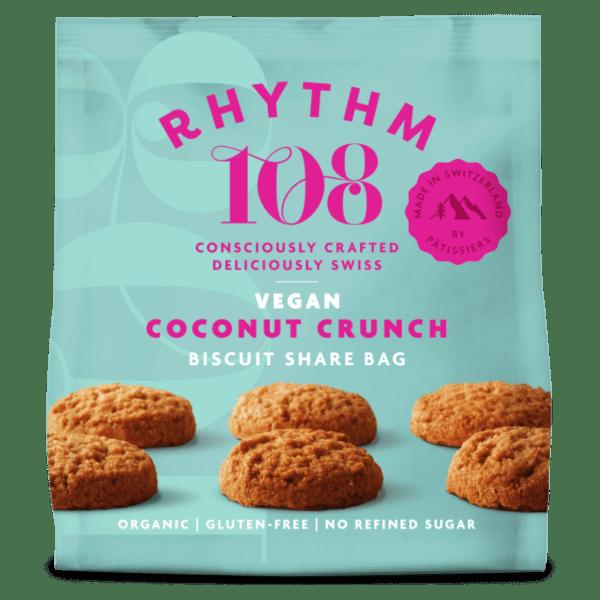 rhythm 108 coconut cookie vegan switzerland