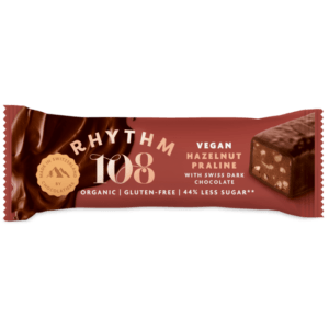 rhythm 108 hazelnut bar vegan
