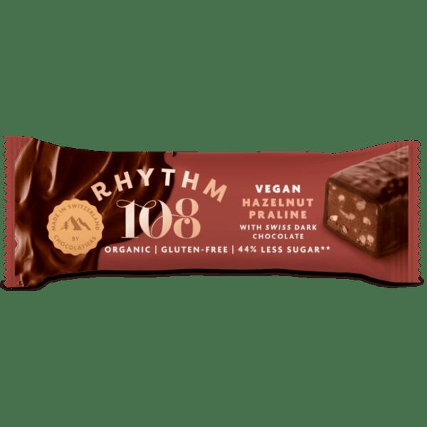 rhythm 108 hazelnut bar vegan