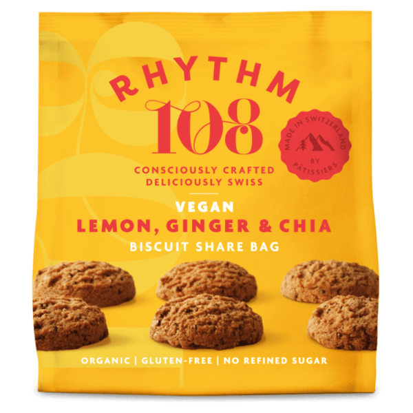 rhythm 109 vegan snack cookie switzerland