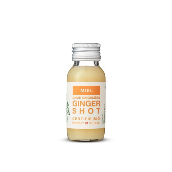 ginger juice shot honey Switzerland