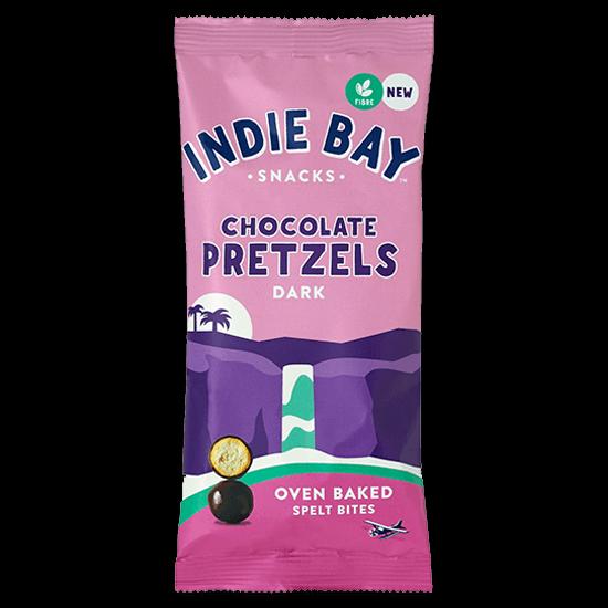 Dark Chocolate Crunchy Pretzel