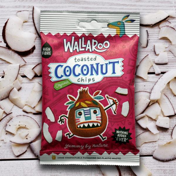 Wallaroo Organic Toasted Coconut
