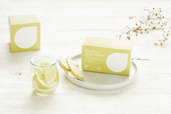 Lemon Ginger organic tea