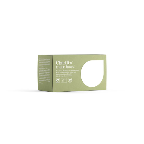 mate boost charitea organic tea