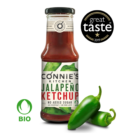 Schweizer Bio-Jalapeño-Ketchup-Packung Connie's Kitchen