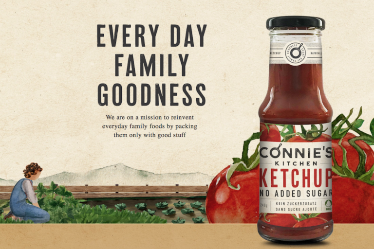 connie's kitchen organic sauces swiss made