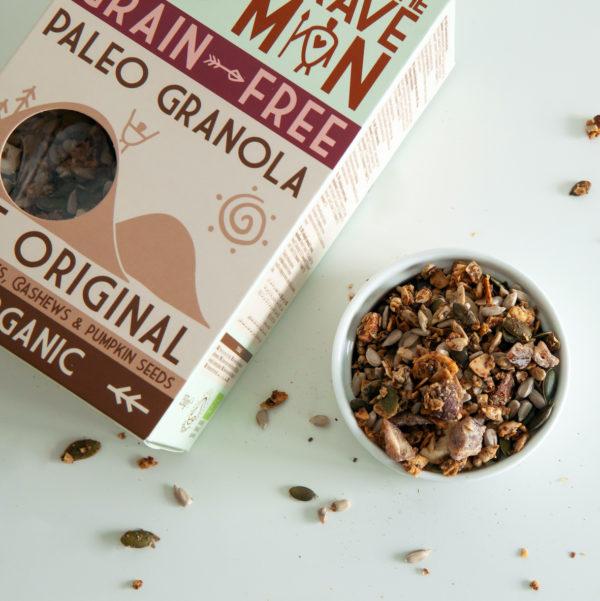 organic paleo granola healthy