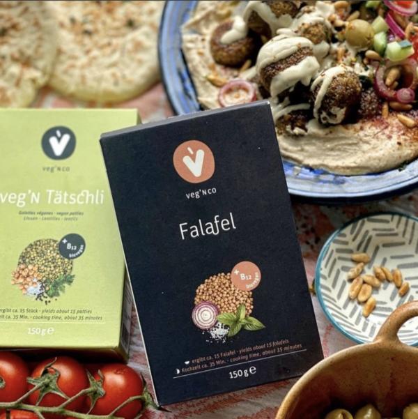 falafel vegan mix homemade