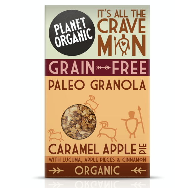 Organic Granola Apple Caramel Switzerland