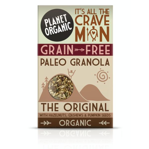 Organic Paleo Granola Original Pack
