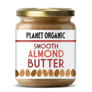Planet organic almond butter siradis pack