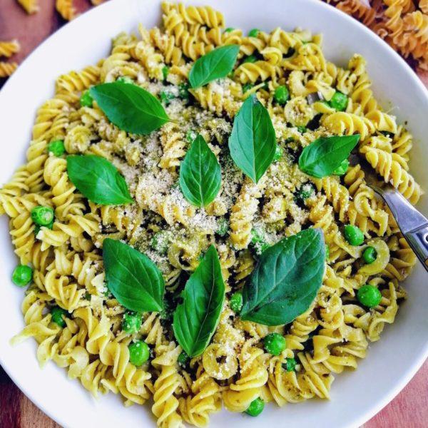 vegan pasta plant-based