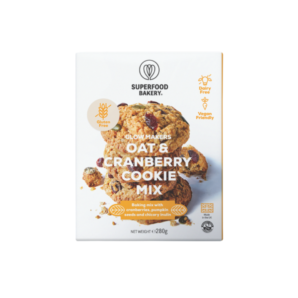 Superfood Bakery - Oat & Cranberry Cookie Mix - 265g