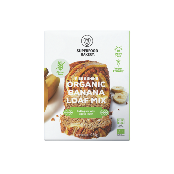 Superfood Bakery - Organic Banana Loaf Mix - 250g