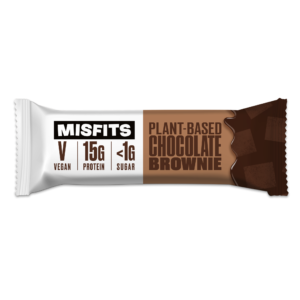 Misfits - Plant-based Protein Bar - Chocolate Brownie