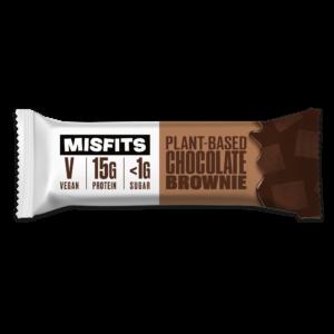 Misfits - Plant-based Protein Bar - Chocolate Brownie