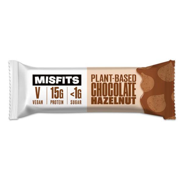 Misfits - Plant-based Protein Bar - Chocolate Hazelnut