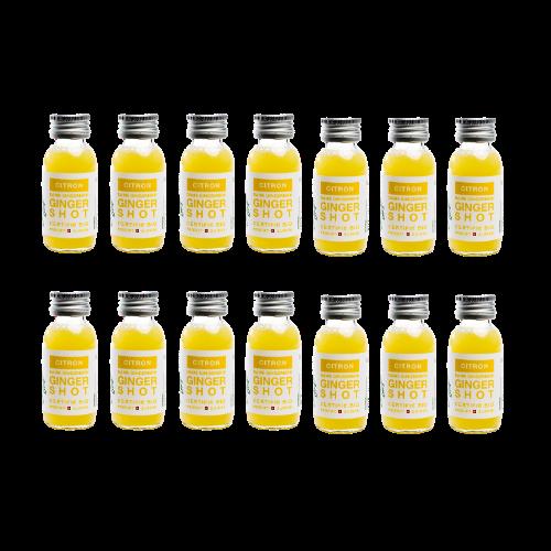 Siradis - Lemon Ginger Shot - Morning Routine 14x60ml