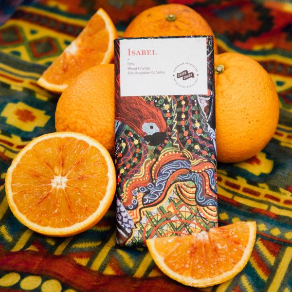 isabel chocolate swiss orange dark