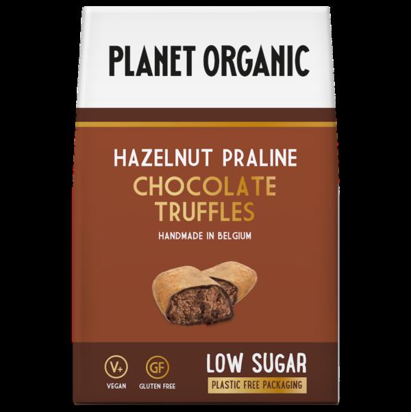 Planet Organic - Hazelnut Praline Chocolate Truffles - 80g