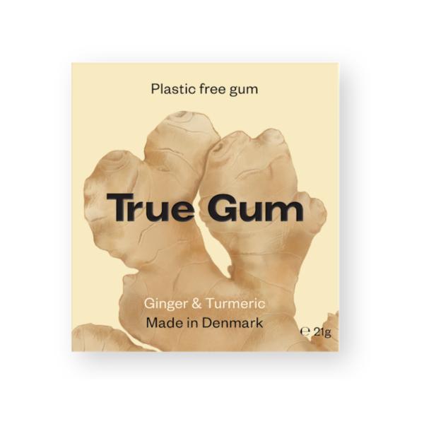 plastic free gum ginger