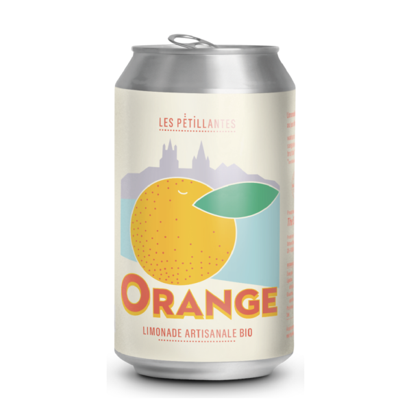 Les Pétillantes - Orange - 3x330ml (cans)