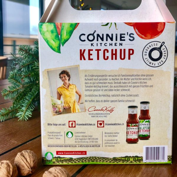 gift ketchup organic switzerland connie's kitchen