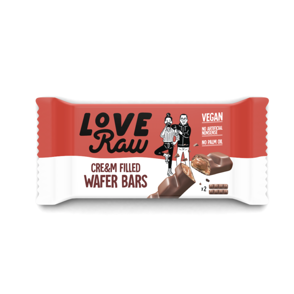 Love Raw - Cre&m Wafer Bars