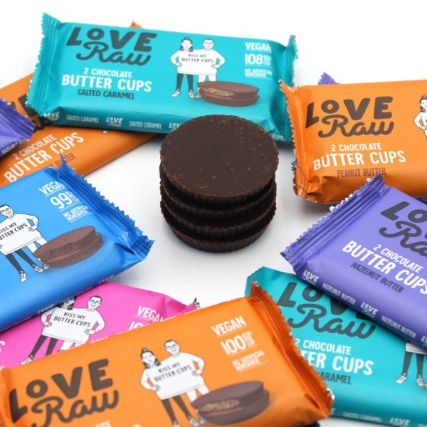 LoveRaw vegan chocolate cup Switzerland buy
