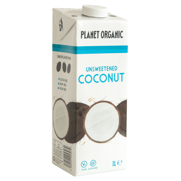 PLANET ORGANIC – UNSWEETENED COCONUT DRINK