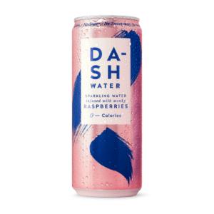 Dash Raspberry sparkling water