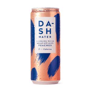 Dash peach sparkling water switzerland