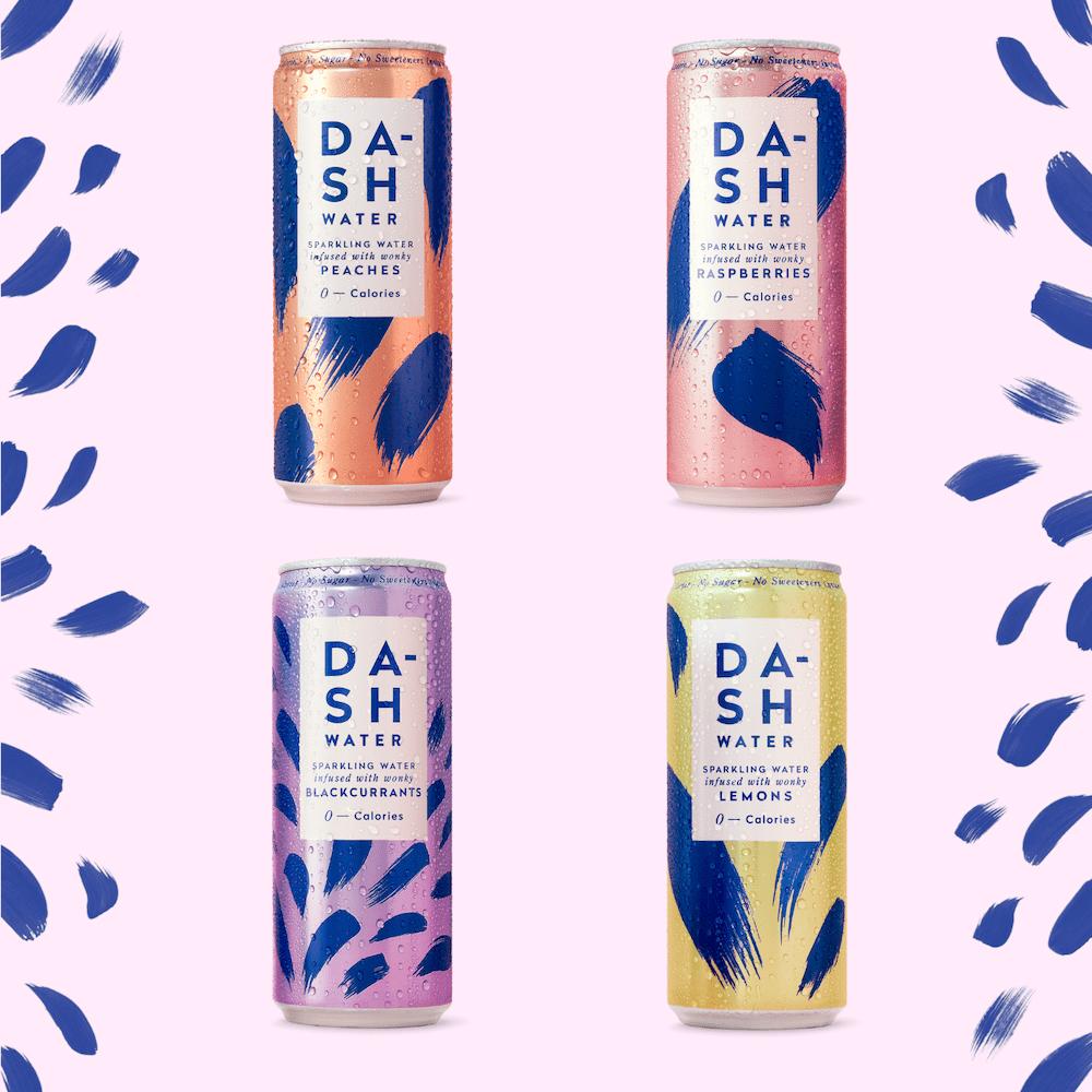 dash water zero sugar