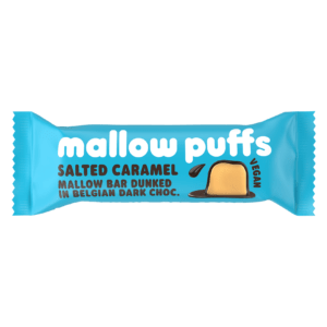 mallow puffs salted caramel marshmallow bar
